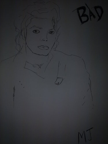 My MJ sketch..