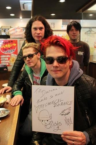 My chemical romance @ japan