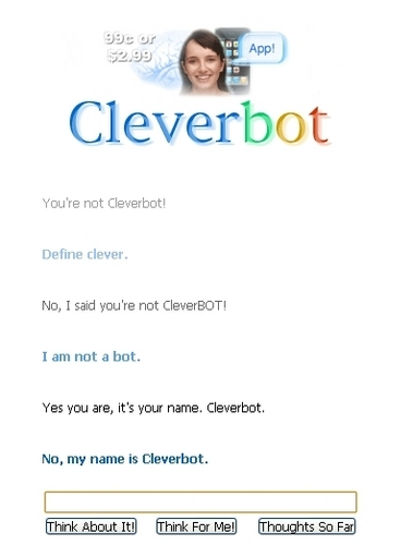 Not-so-clever bot.