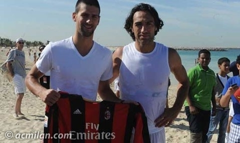 Novak Djokovic & Alessandro Nesta