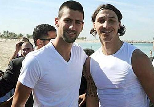 Novak & Zlatan