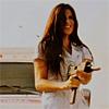 Machete photo possibly with a portrait called Nurses Mona & Lisa