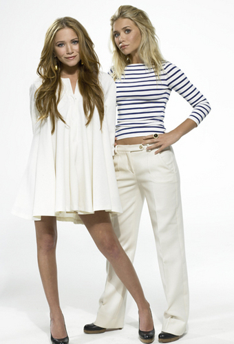 Mary-Kate & Ashley Olsen wallpaper containing a well dressed person titled Official Pics