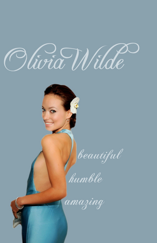 olivia wilde wallpaper containing a portrait titled Olivia Wilde