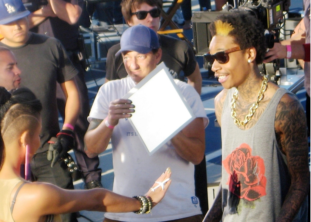 wiz khalifa roll up pictures. On the set for Wiz Khalifa#39;s