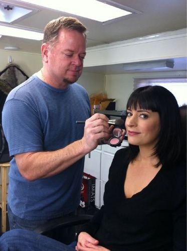 Emily Prentiss 壁纸 called Paget and Dayne the CM makeup Man