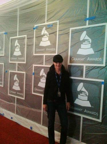 Pauley at the Grammy