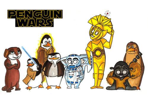 پینگوئن, پیںگان Wars