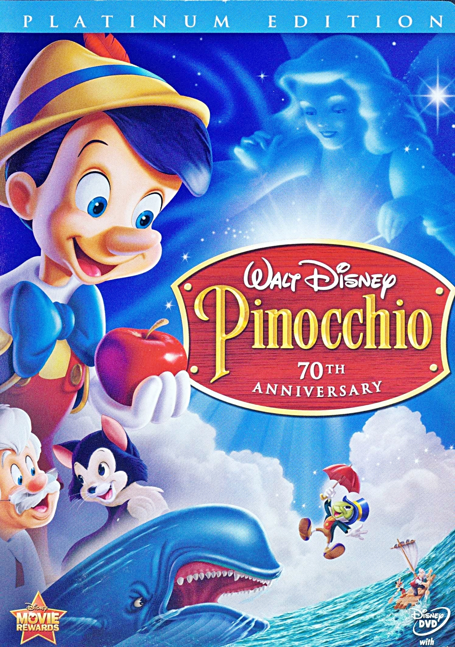 Epic Dvd Front Cover Pinnochio Two-Disc Pla...