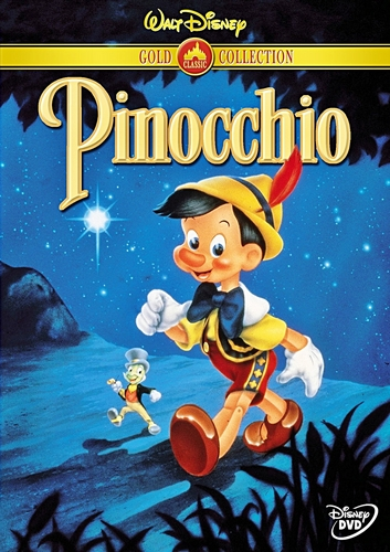 Pinocchio - 金牌 Collection DVD Cover