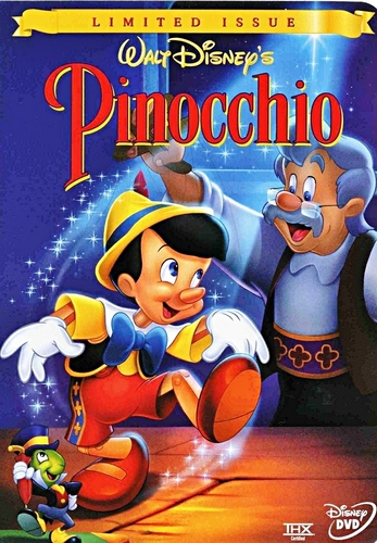 Pinocchio - Limited Issue DVD Cover - walt-disney-characters Photo