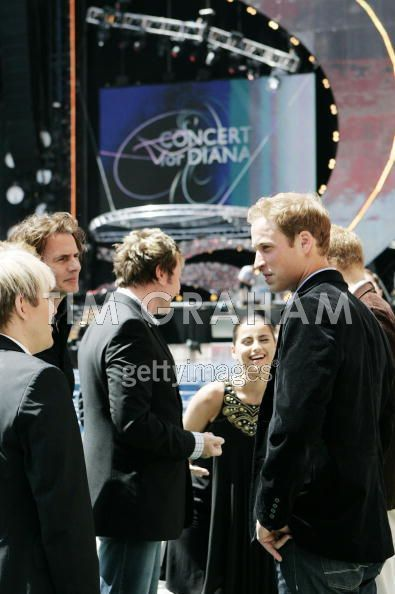prince williams and harry at diana. princeharry princessdiana