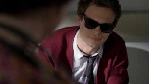 Dr. Spencer Reid wallpaper containing sunglasses and a business suit titled Reid