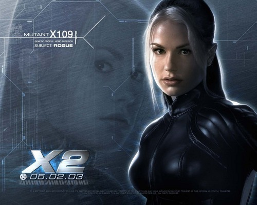 X-men THE MOVIE wallpaper probably with a hood and a sign titled Rogue