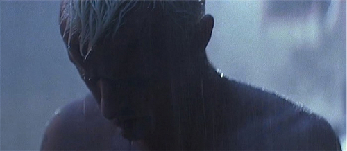 Blade Runner wallpaper containing a fountain entitled Rutger Hauer as Roy Batty