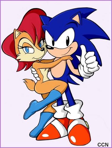 Sally y Sonic