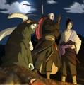 Sasuke, Madara, Kabutomaru
