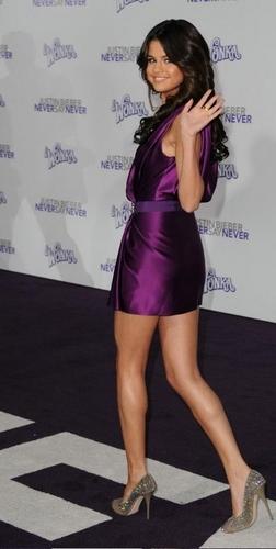Selena @ Never Say Never Premeire