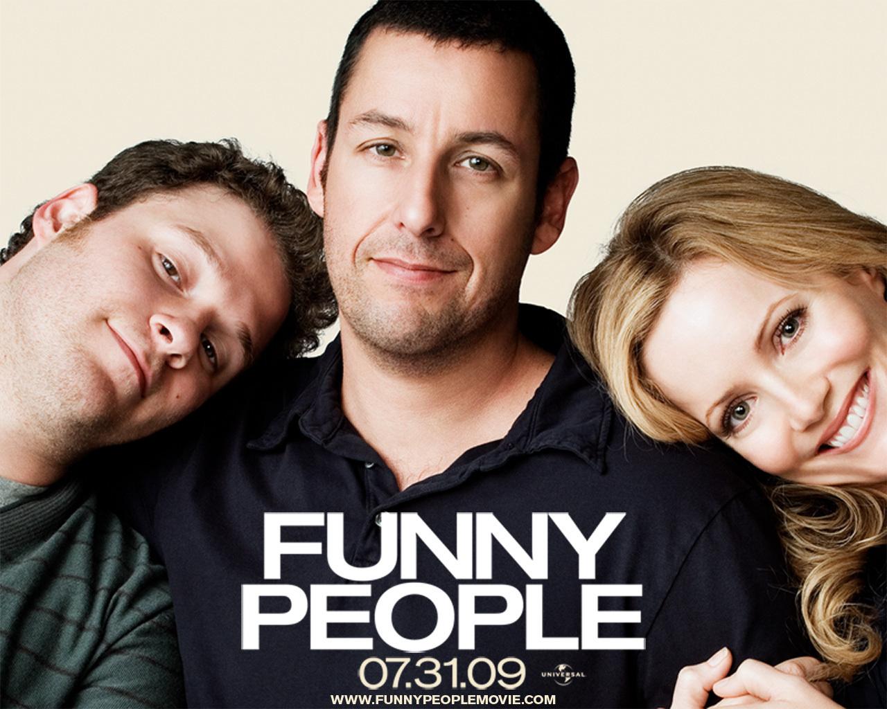 Seth Rogen, Adam Sandler & Leslie Mann in Funny People