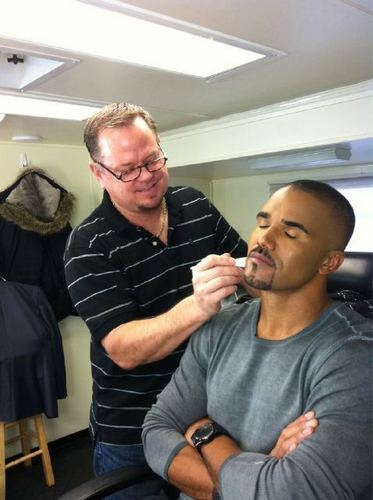 Shemar and Dayne the CM Makeup Man
