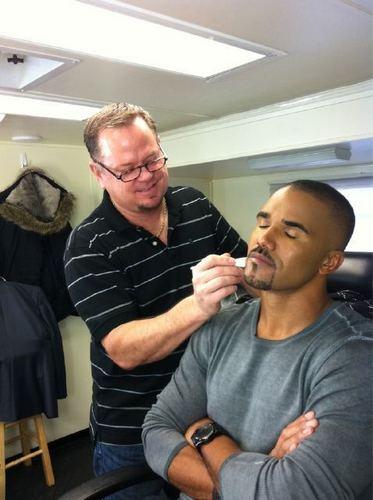 Shemar and Dayne the CM Makeup Man