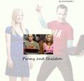 Shenny - penny-and-sheldon fan art