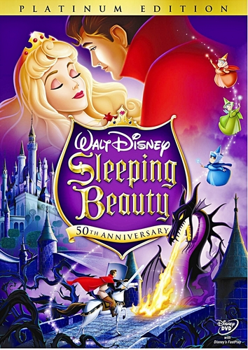 Sleeping Beauty - Two-Disc Platinum Edition Disney DVD Cover