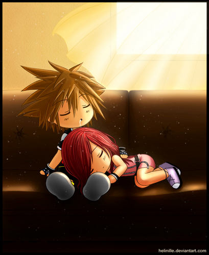 Kairi & Sora wallpaper called Sora and Kairi