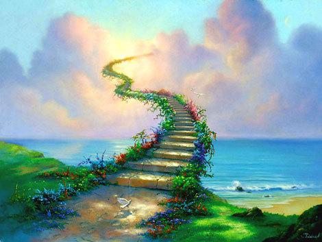 stairway to heaven   fantasy photo 19287859   fanpop