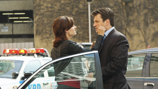 Nathan fillion and stana katic behind the scenes - photo#4