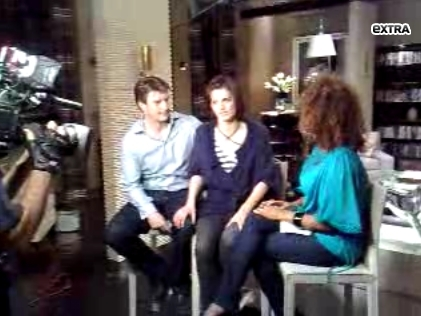Stana & Nathan - nathan-fillion-and-stana-katic Photo