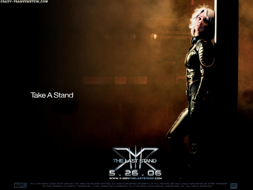 X-men THE MOVIE wallpaper probably containing a business suit, a concert, and a well dressed person titled Storm