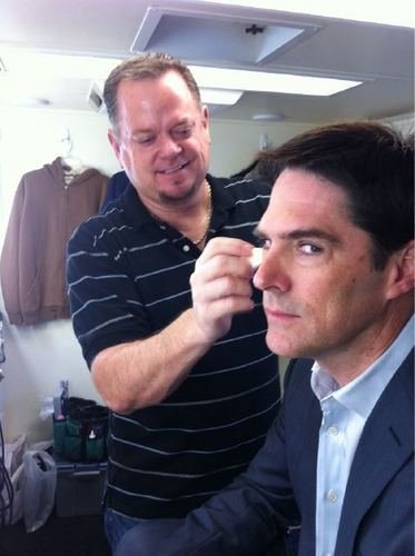 TG and Dayne the CM Makeup Man
