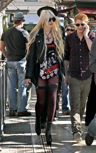 Taylor at the the Grove - February 11, 2011