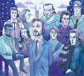 The Die Hard Crew! - alan-rickman fan art