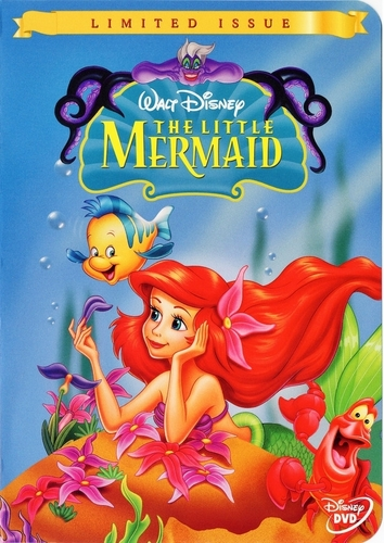 The Little Mermaid - Limited Issue 디즈니 DVD Cover