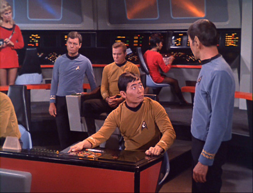 Star Trek: The Original Series wallpaper entitled The Man Trap