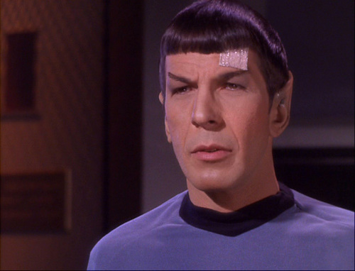 Star Trek: The Original Series wallpaper possibly with a jersey titled The Man Trap