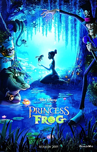 Walt 迪士尼 Posters - The Princess and the Frog