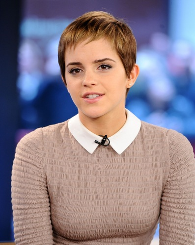Emma Watson wallpaper probably containing a pullover entitled The Today Show