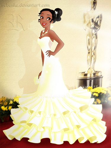 Tiana at the Oscars