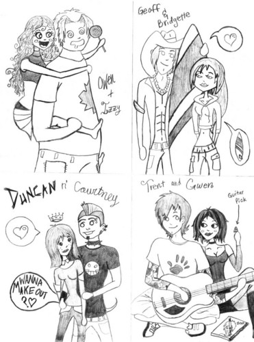 Total Drama Couples