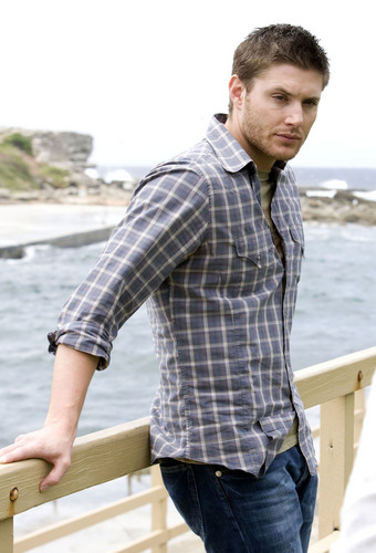 Winchester's Journal kertas dinding titled Unknown Shoot - Jensen Ackles 06