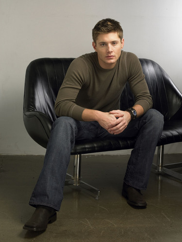 Winchester's Journal wallpaper containing a couch called Unknown Shoot - Jensen Ackles 09