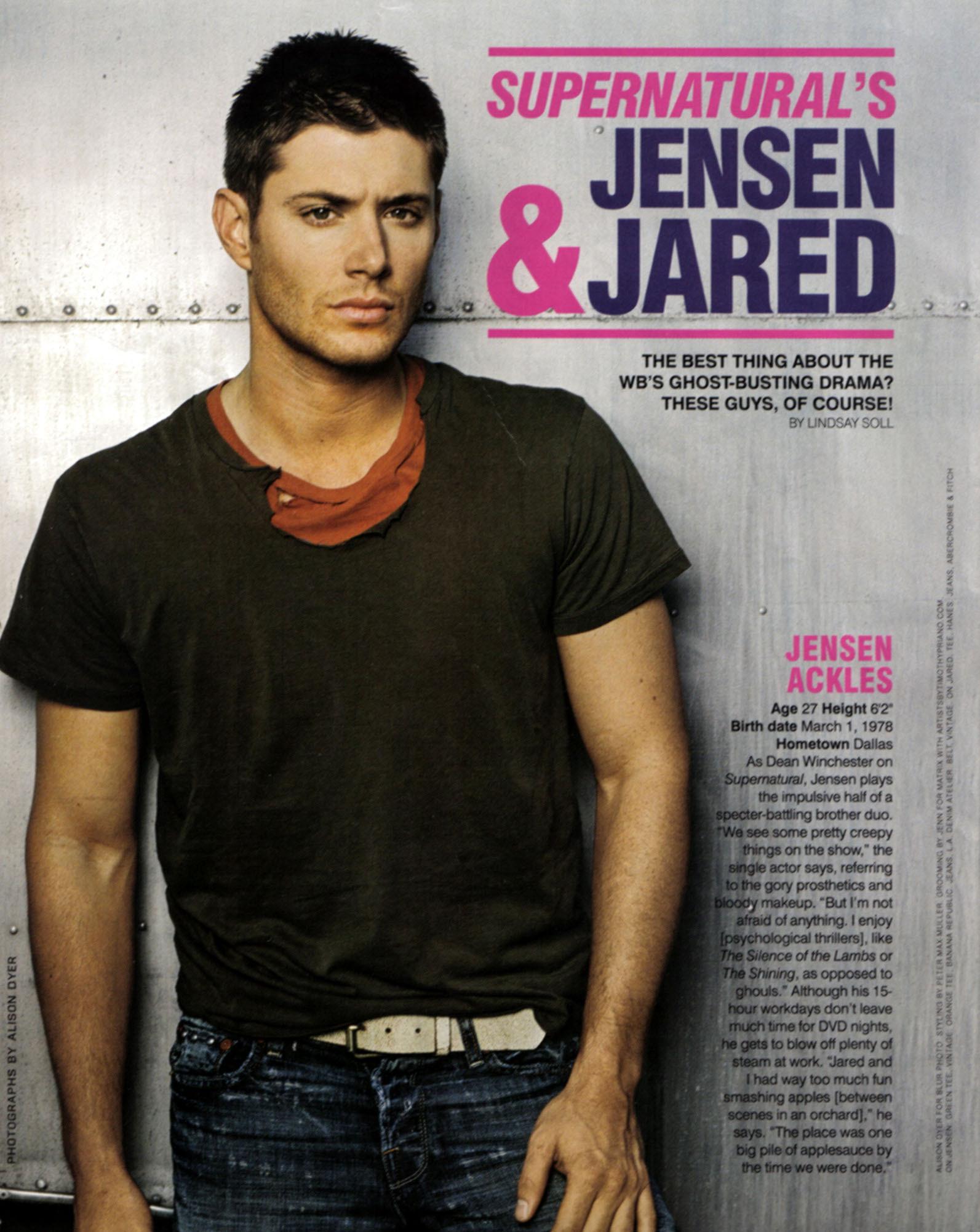 Unknown Shoot - Jensen Ackles 11