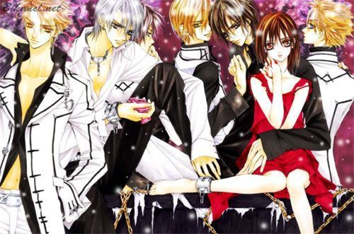 Vampire Knight karatasi la kupamba ukuta probably with anime called Vampire Knight