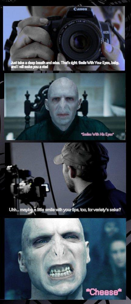 Voldemort's Photo Session