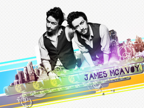 James McAvoy wallpaper probably containing a sign titled Wallpaper