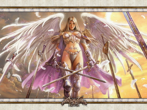 Warrior angel - fantasy Wallpaper