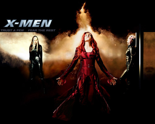 X-men THE MOVIE wallpaper titled X3 Ladies